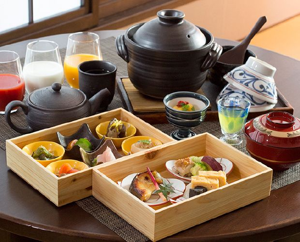 You can enjoy our special Japanese breakfast in your room