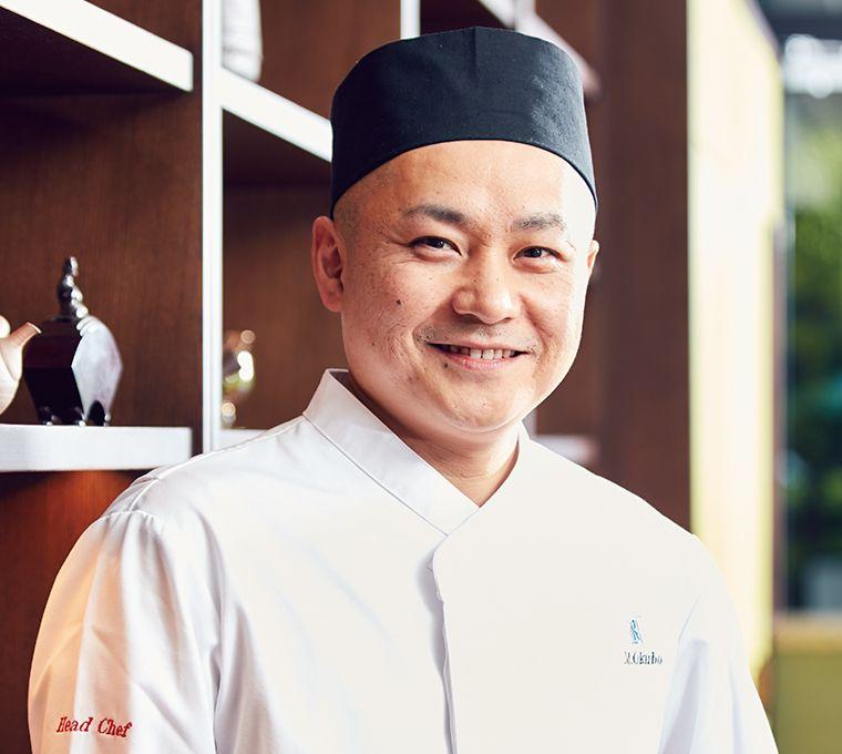 Head chef  Masafumi Okubo