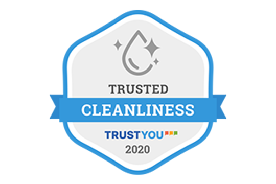 Trusted Cleanliness Badgeを取得しました。