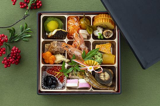 オーダー制の食べ放題「おせちレストラン」と、「龍名館謹製おせち」のテイクアウト、 本日よりご予約受付開始いたします!